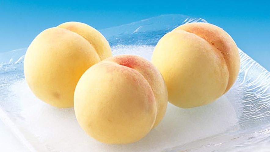 【桃狩りイメージ-】-岡山の甘~い桃を味わってください。