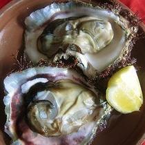 天然岩牡蠣の酒蒸し