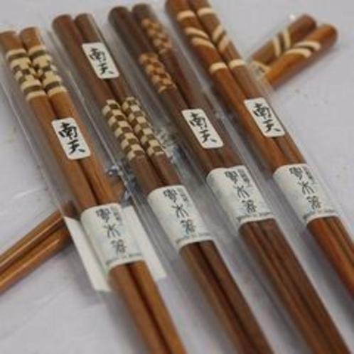 寄木細工のお箸