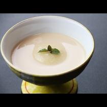 ◆【ご夕食一例・デザート】紅茶のプティング