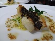 夕食 魚タップナード
