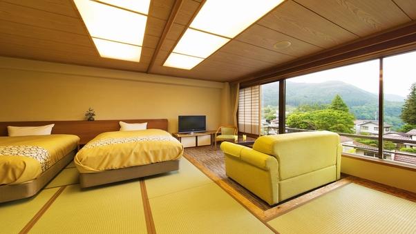 【山側◇和室ベッドルーム】和洋の快適空間※禁煙