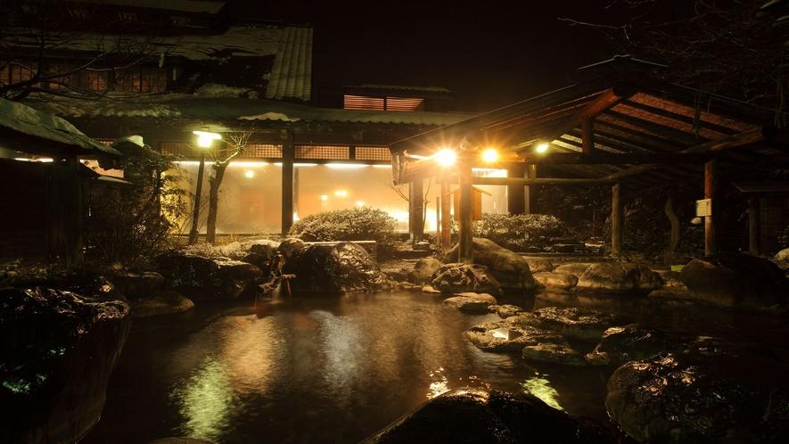 ■露天風呂 ■~瑠璃の湯 / 密多の湯~