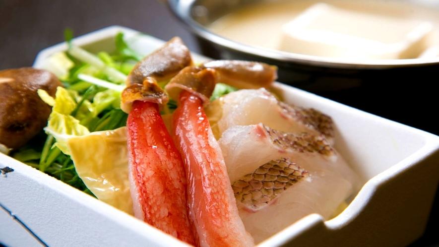 ■豆乳海鮮しゃぶしゃぶ■