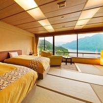 ■湖側◇和室ベッドルーム■