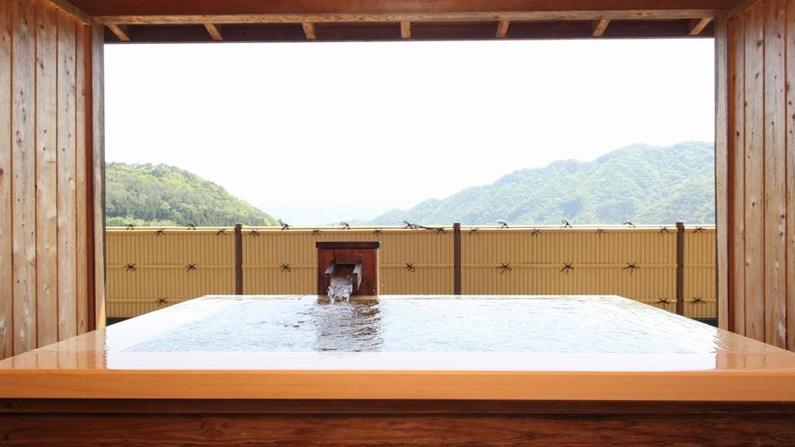 【檜の露天風呂つき貴賓室】■風花◇和室12.5畳+8畳+露天■