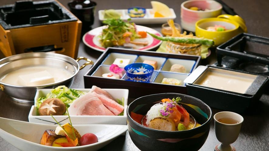 【伝統の味継承】■豆富懐石■