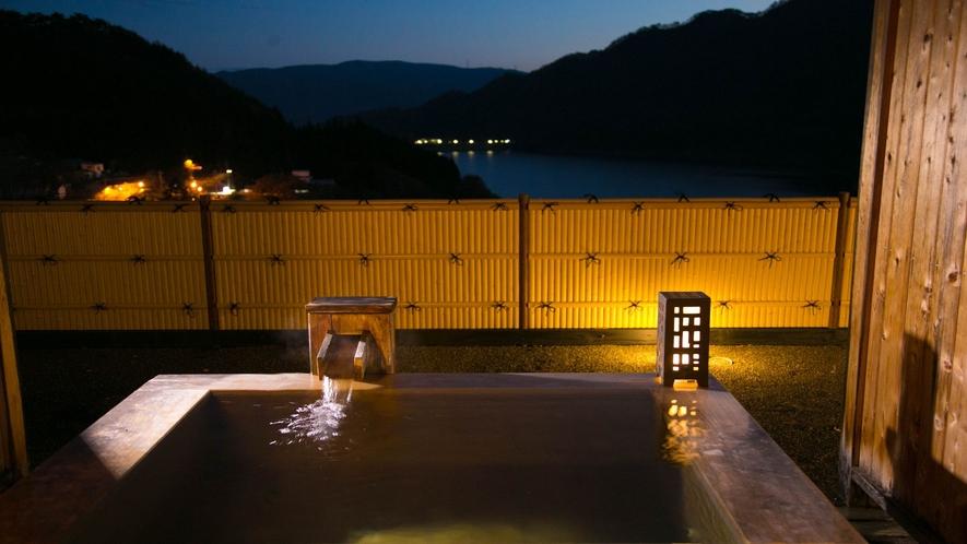 【檜の露天風呂つき客室】■風花◇和室2間+露天■禁煙