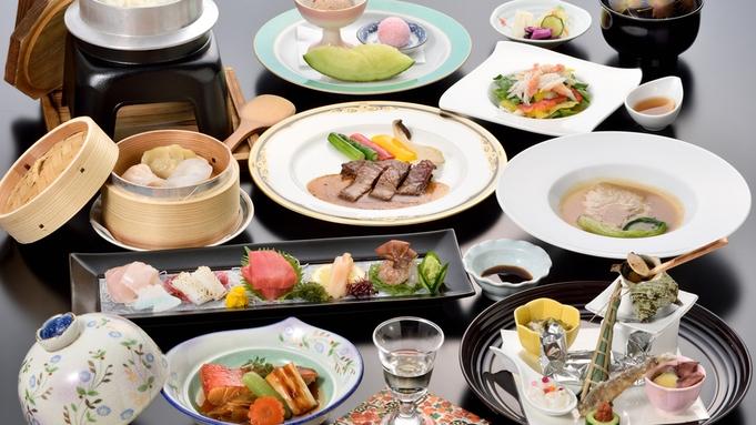 【新☆和・チャイコース】『プレミアム』フカヒレ姿煮&金目鯛の煮付で贅沢料理!料理重視のコラボ膳!