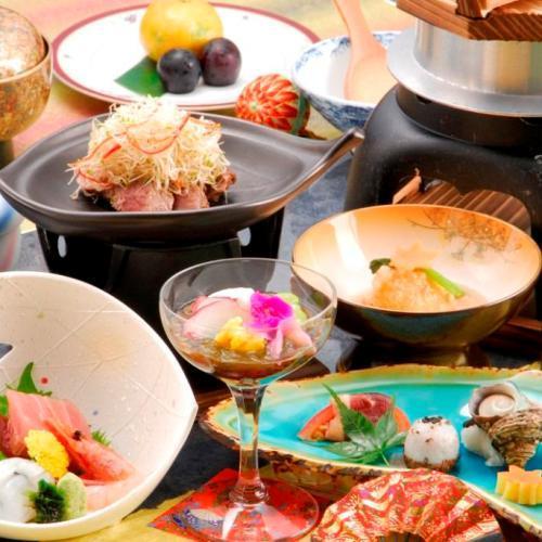 ■和食会席一例
