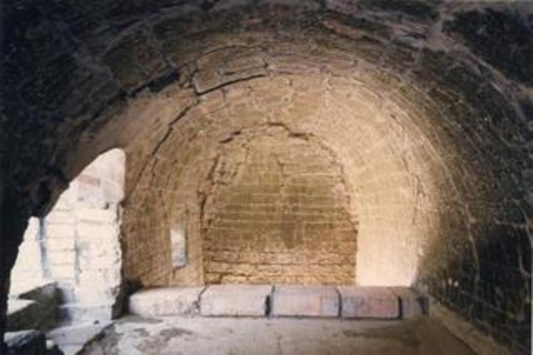 韮山反射炉の内部