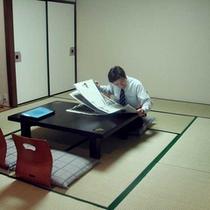 和室8畳はビジネスの方に人気