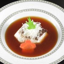 真鯛の蒸し物 オイスターソース