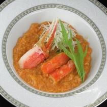 蟹の特製チリソース