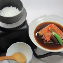 【11月・12月】和食会席 美味な白飯と金目鯛の煮付け