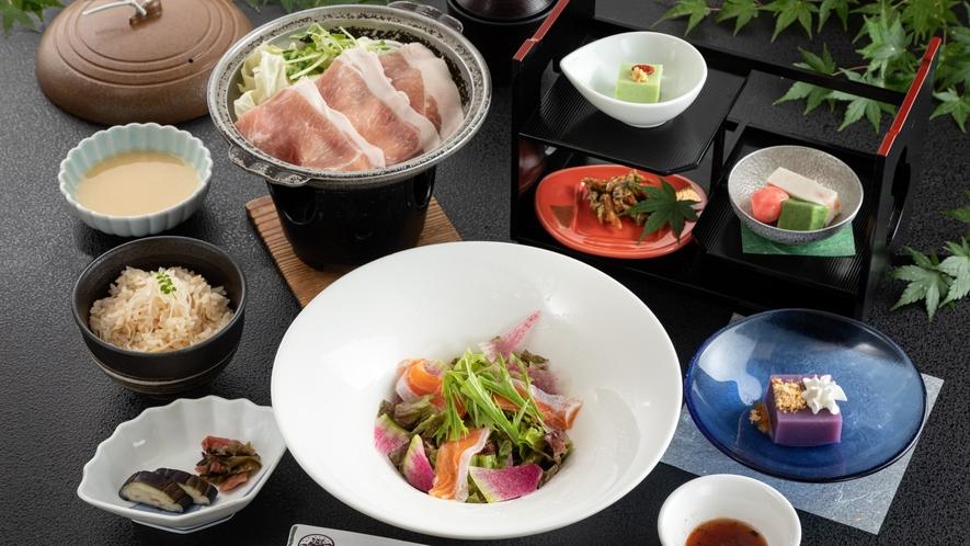 【昼食】湯の風プラン 一例