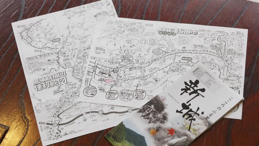 はづの湯谷温泉マップ