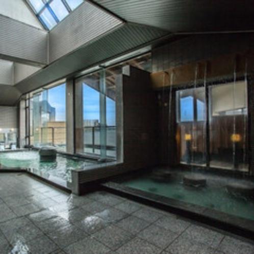 夢湯パークの大浴場ジャグジー風呂