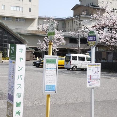 キャンバス乗り場(温泉一区)