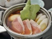 鹿野豚の治部煮鍋