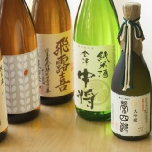 【ドリンク】会津地酒
