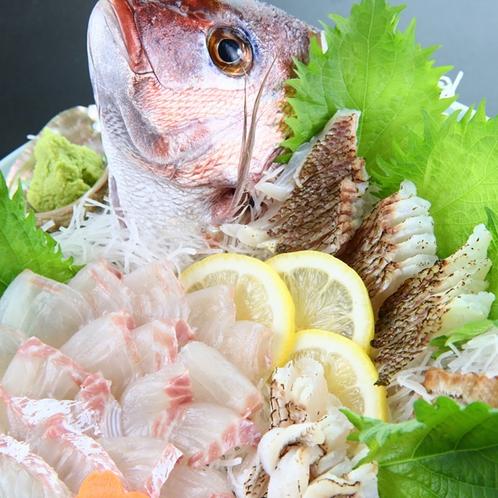 リーズナブルコース皿盛り◆お得に海鮮を味わえるコースです