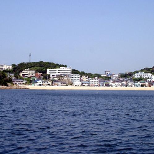 三河湾にぽっかりと浮かぶ篠島!