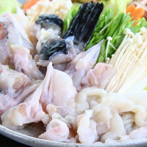 ふぐ鍋-てっちり-◆ふっくらとした甘みのある食感を鍋で♪