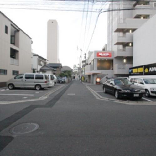 第1駐車場③