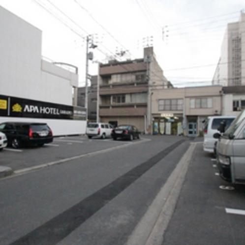 第1駐車場②