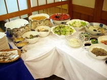 朝食バイキング(野菜)