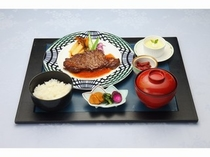 えらべる夕食プラン(ステーキ御膳)