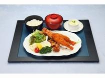 えらべる夕食プラン(エビフライ御膳)