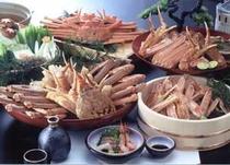 蟹料理の一例