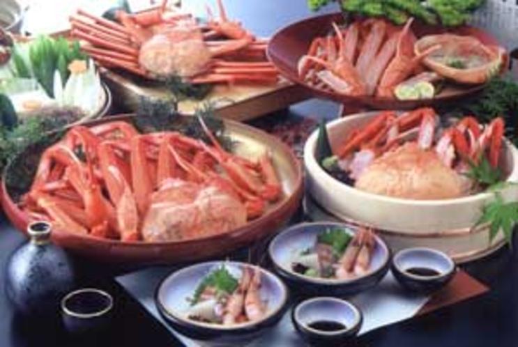 香住蟹料理の一例