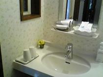 ゆったりツインのお部屋の洗面(101)