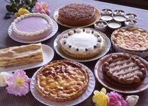 日替わりで用意する手作りケーキ