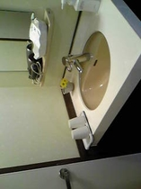 201のお部屋の洗面