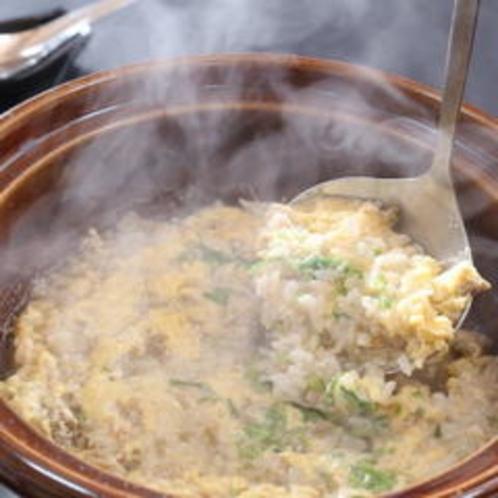 かに味噌雑炊