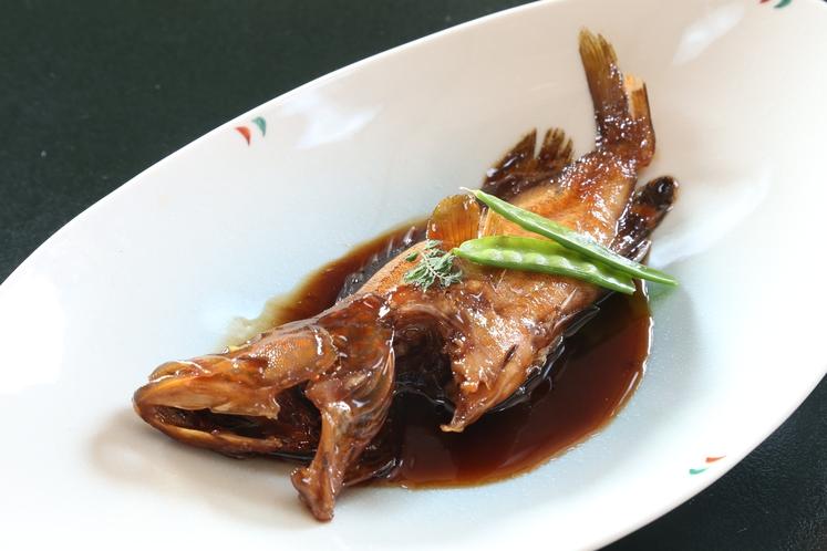 旬のお魚の姿煮