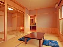 敦賀湾を見渡せる展望風呂付き≪月の間≫一日一組様限定です。