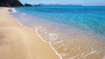 夕日の名所、海水浴のメッカ「水晶浜」へ出かけませんか?宿から7分!アクセス良好です!