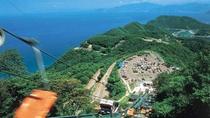 梅丈岳を縫うように走る【レインボーライン】五つの湖と日本海を一望できる最高のドライブコース。