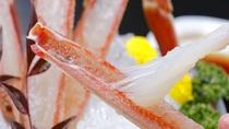 新鮮な活蟹ならではのとろける甘さを味わってください。