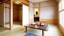 【月の間】敦賀湾一望の特別室 木の香漂う和の空間