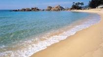 水晶浜≫県内外からたくさんお海水浴客が訪れます