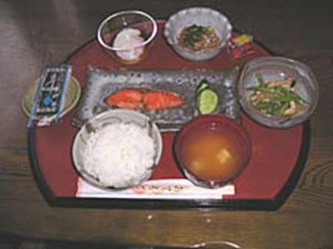 朝の和食膳