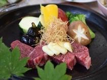 鳥取牛ステーキ♪