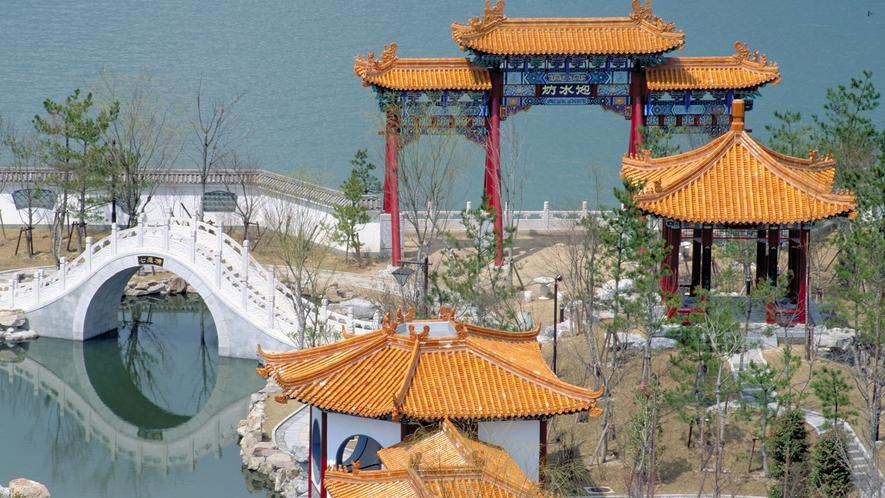 ◆中国庭園燕趙園