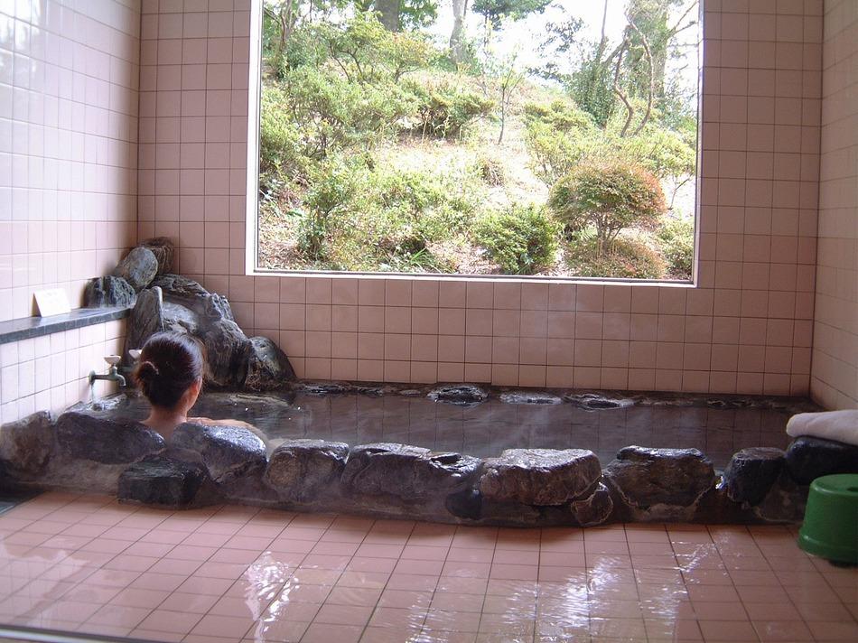 掛流し温泉